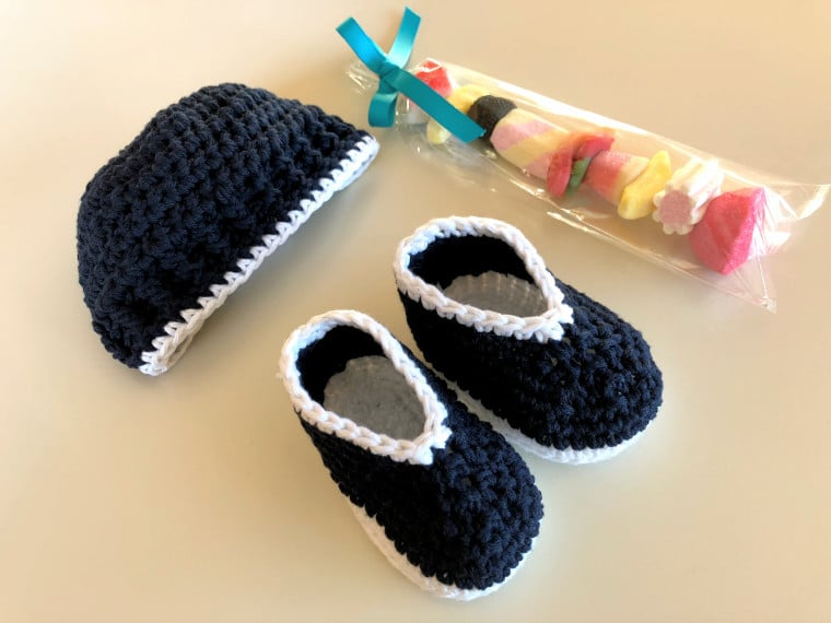 Crochet Parker Baby Set by Sewrella