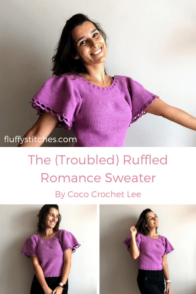 Pinterest of the Ruffled Romance Sweater