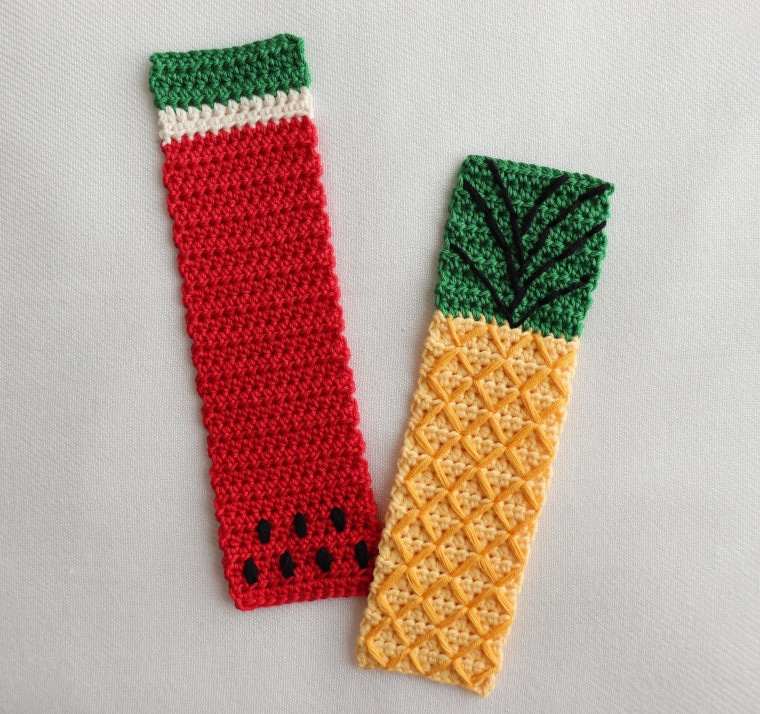 The Crochet Tropical Bookmark Set cover image