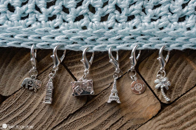 Stitch Markers, one of the top gifts for crocheters & knitters