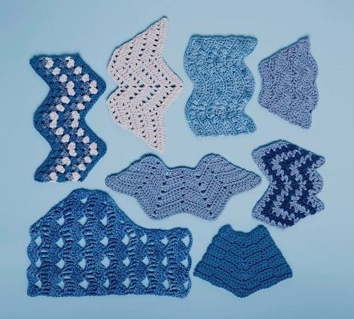 Ondulating Stitches from Crochet Every Way