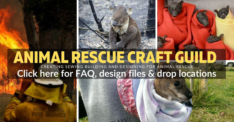 Image from Animal Rescue Craft Guild Facebook Page