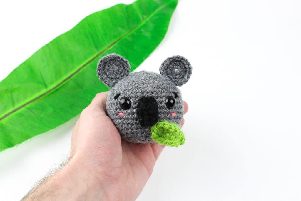 Amigurumi Koala by Knot Bad