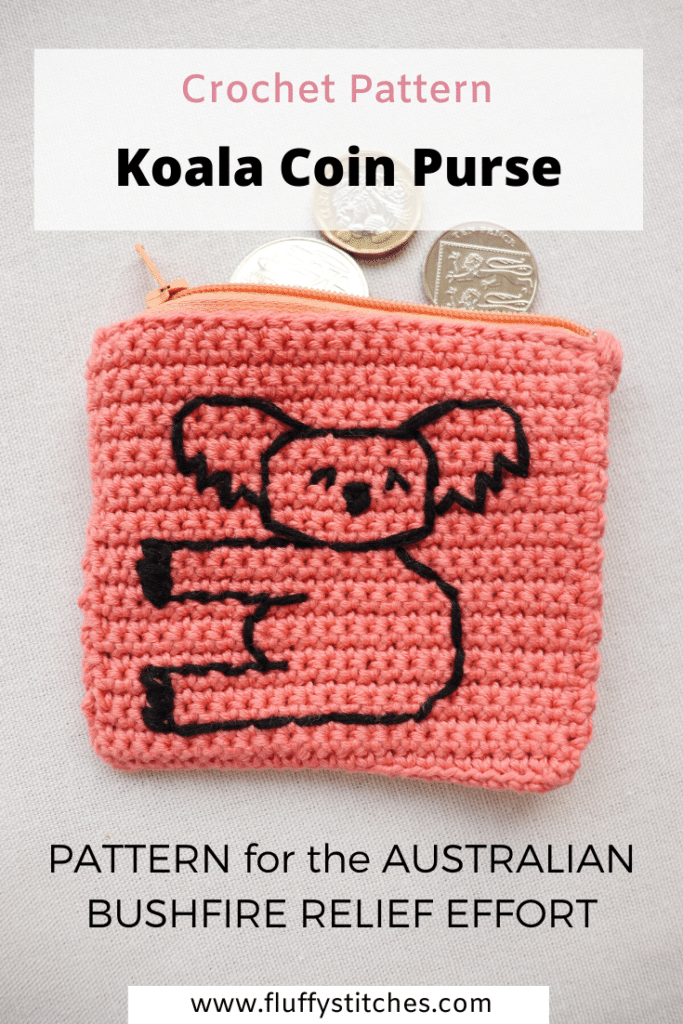 Help the bushfire relief effort by making this Crochet Koala Coin Purse. Buy the pattern and it will revert 100% to Victorian firefighting efforts!