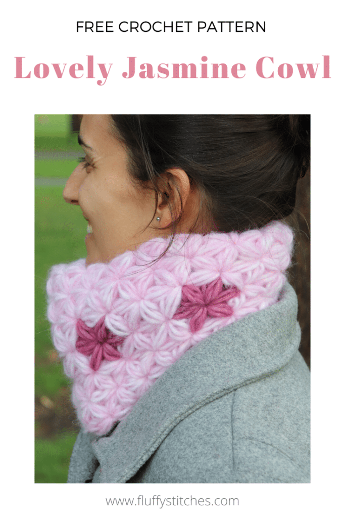 The Lovely Jasmine Cowl is the romantic project you need for this Valentine's. With a flower pattern that makes it both beautiful and feminine, this seamless and reversible cowl will turn your world around. Designed to wear on a special occasion or to be made as an unforgettable gift, this crochet piece is made completely in jasmine stitch.