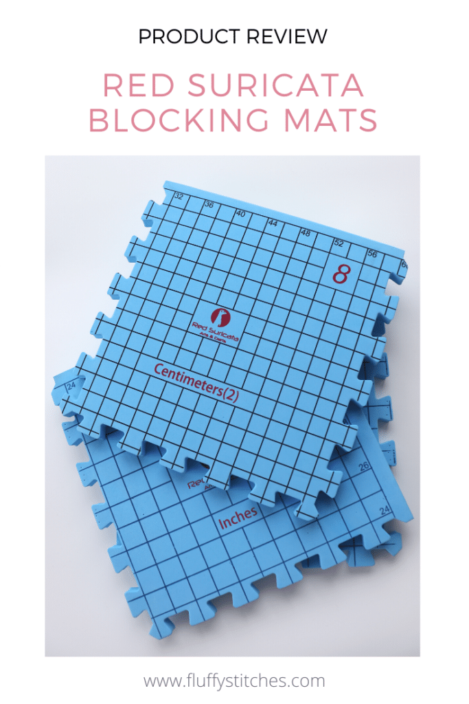 If you knit or crochet, read this Red Suricata Blocking Mats review and find out why you need to block your next project and why you need these!