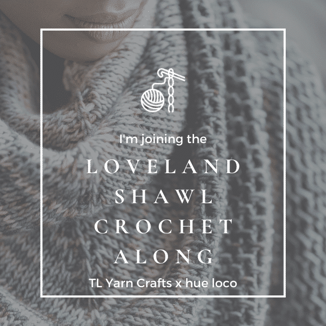 Badge for the Loveland Shawl CAL