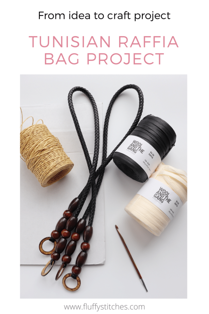 Come and see this Tunisian Crochet Raffia Bag project come to life as I share with you my creative process. See how it starts in this post right here.
