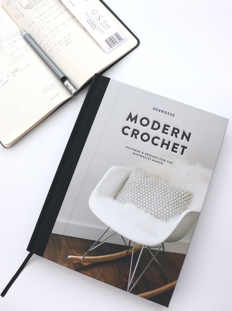 The cover image for the Modern Crochet book review