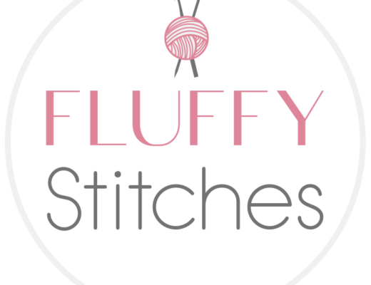 The new Fluffy Stitches round logo