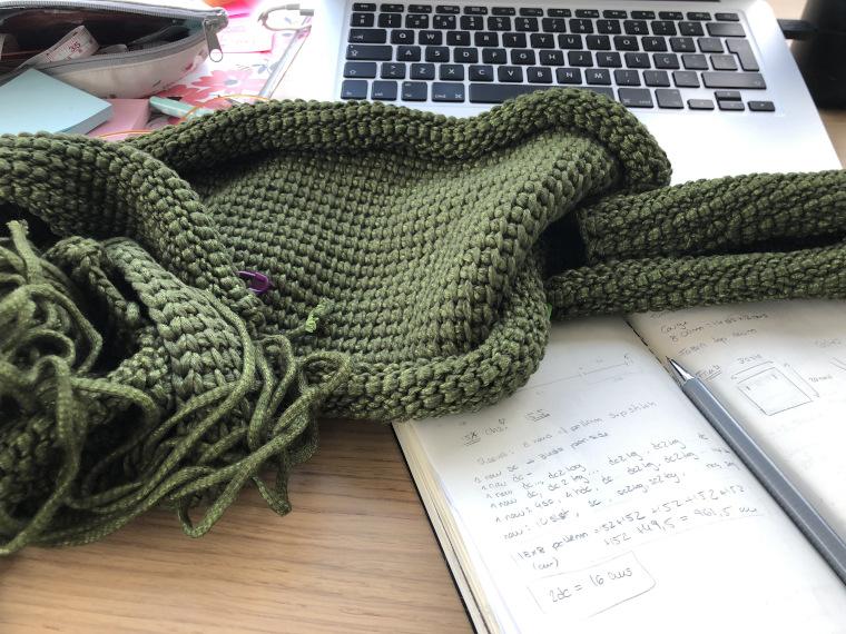 A Tunisian Crochet WIP