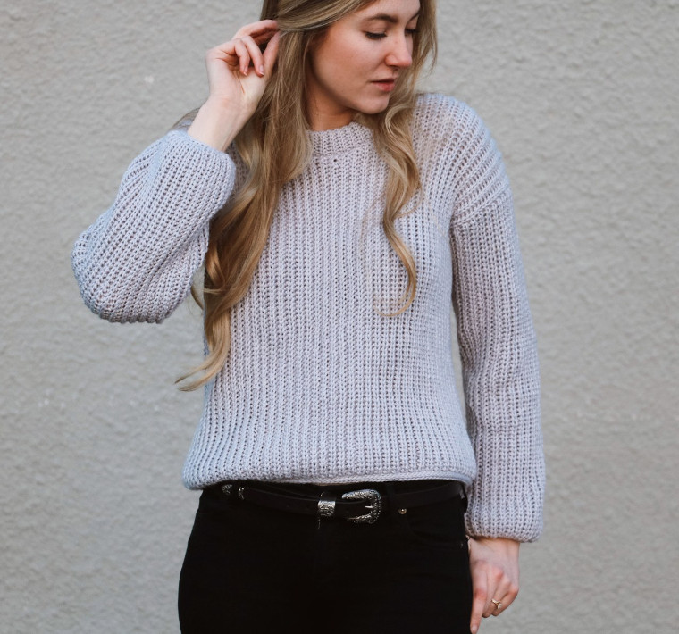 The April Sweater from Originally Lovely
