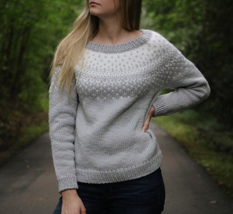 The Snowfall Sweater from Originally Lovely