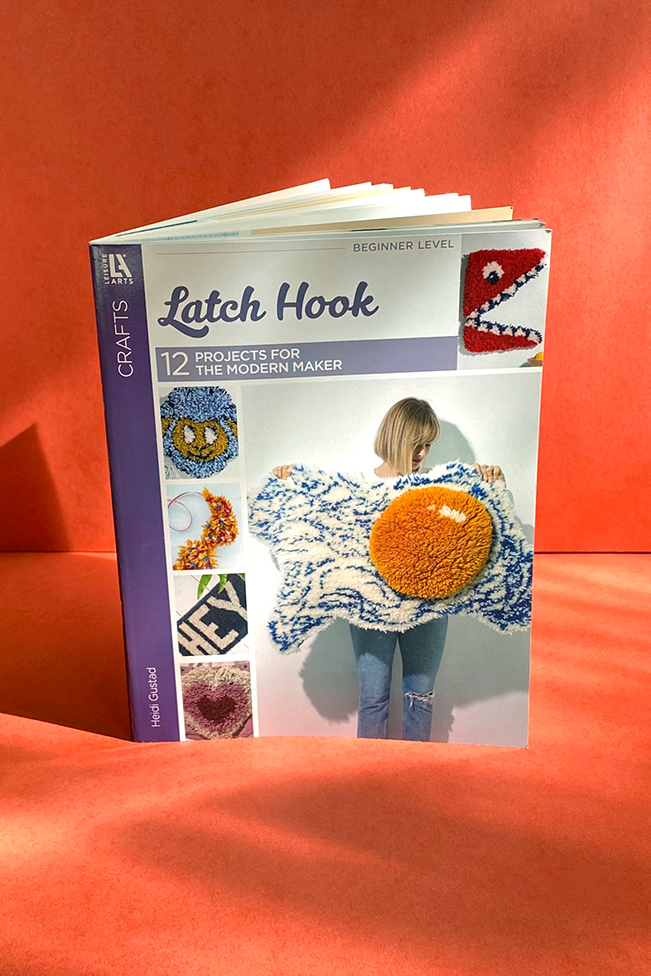 Latch Hook Book by Heidi Gustad of Hands Occupied