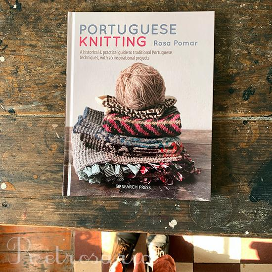 The book Portuguese Knitting