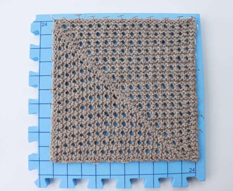 Square Twenty Two blocking on one Red Suricata Blocking Mat