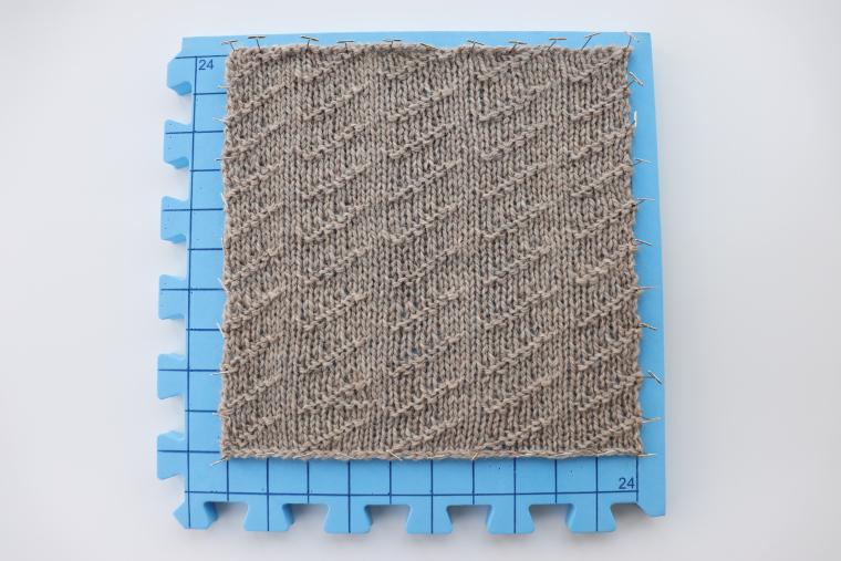 Square Twenty Four blocking on one Red Suricata Blocking Mat